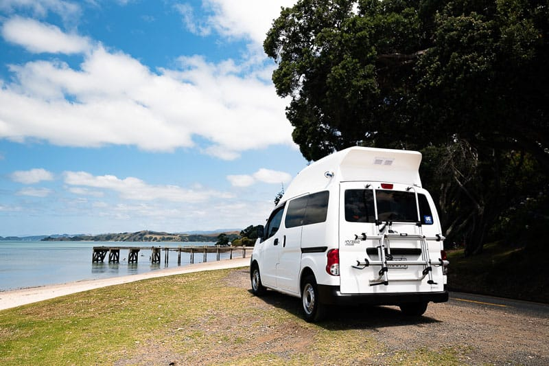 where to park your campervan in new zealand
