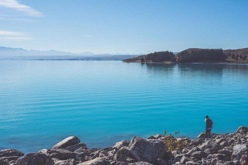 Best places to stay with a campervan in new zealand