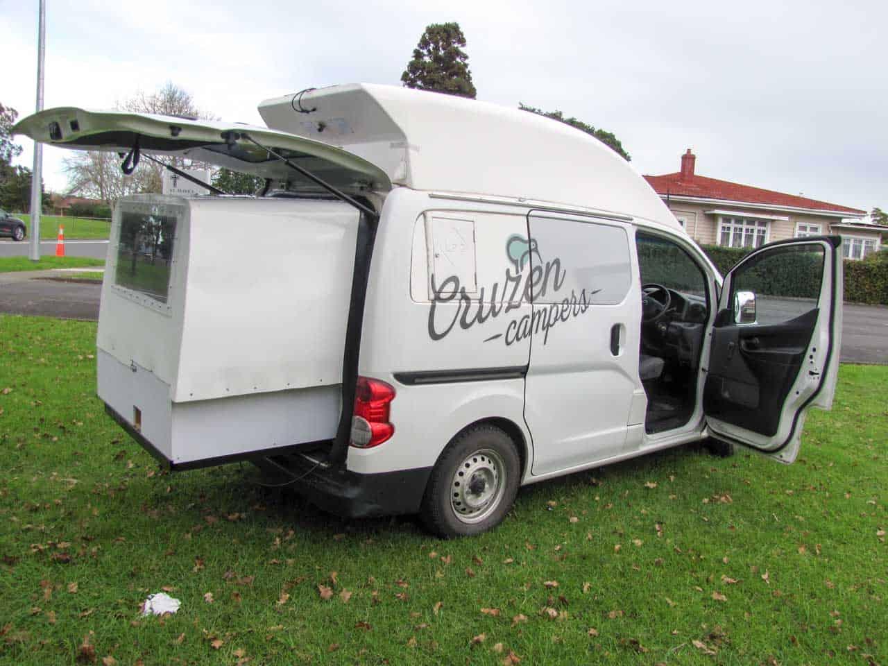 Cruzen Campers Campervan Rental Cruzen 2